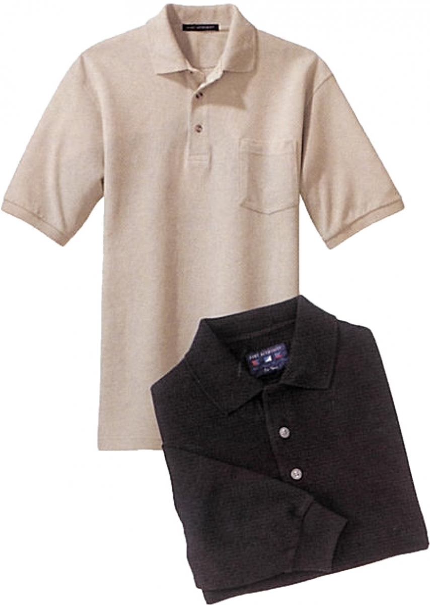 Port Authority Cotton Heavyweight Polo Shirt